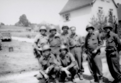 Blurry soldiers