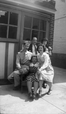 Clockwise from left: Marty, Louis, Bess, Doris, Sara
