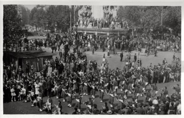 Paris, France. June 1945
