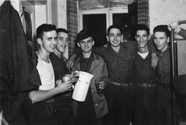 "Left to right: ""Morgan, Reisent, Opi, Gnann, Marty, Fox"""